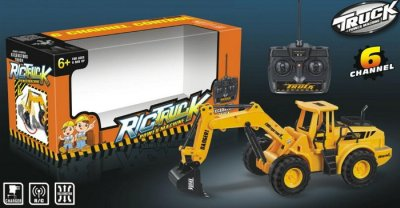 RC Baufahrzeug,<br> Bagger, 3 Kanal,<br>mit Akku -901A