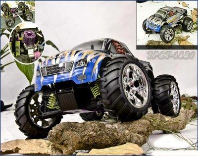 R/C Verbrenner 4WD<br> off-Road<br>Truck-1/10 -2,4Ghz