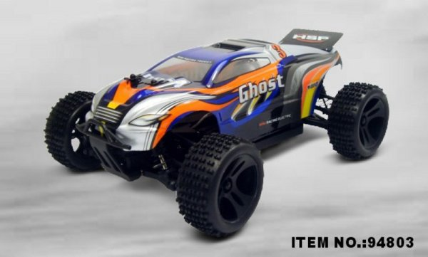RC Truggy  HSP<br> Ghost  4WD - 1:18<br>2,4Ghz