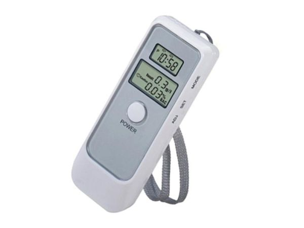 Breathalyzer LCD /<br> Digital Alcohol<br>Tester with Cl