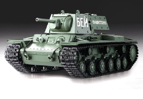 RC Tanks  Soviet Union KV-1  1:16 HL-smoke and sou