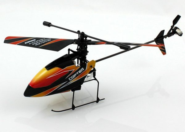 RC 4 kanaals<br> Single Blade V911<br>2,4 GHz  WL Toys