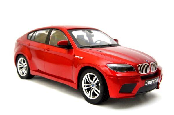 RC Auto  BMW X6 M <br>1:14 mit Lizenz-ROT