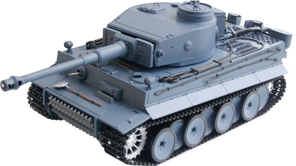 RC Tanks  German Tiger I  Heng Long 1:16 Gray, Ra