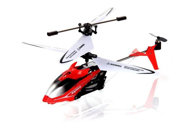 Helicopter SYMA S5<br> 3-Kanal Infrarot<br>mit Gyro (Rot)