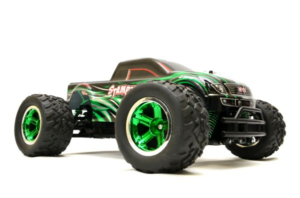 RC Monster Truck<br>  702Pro  1:12 4WD<br>-2,4Ghz green
