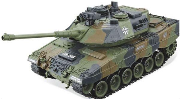 RC Panzer  German<br> Leopard  1:20<br> Schuss&Sound -B11