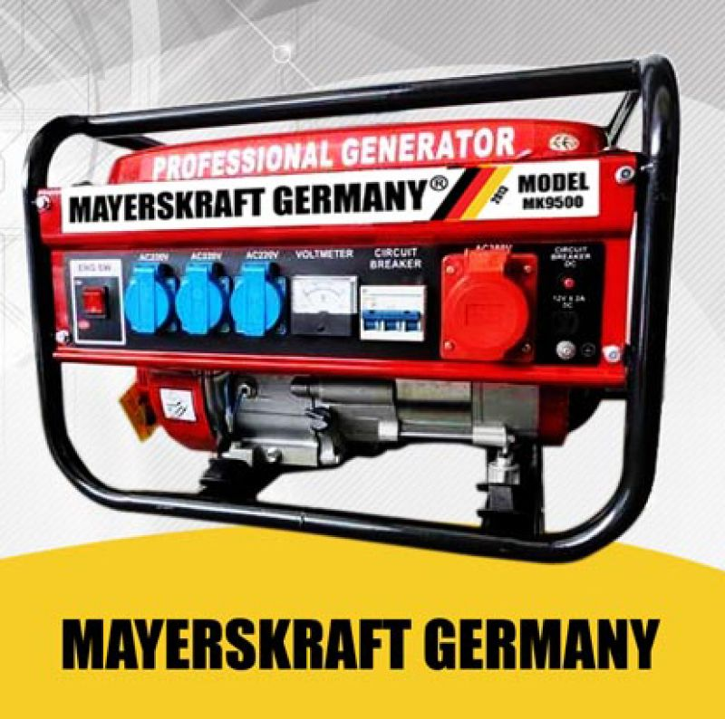 Mayer gasoline<br> power generator<br>power generator