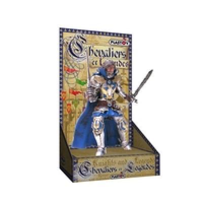Plastoy der blaue<br> Ritter auf<br>Kartonverpackung !!!