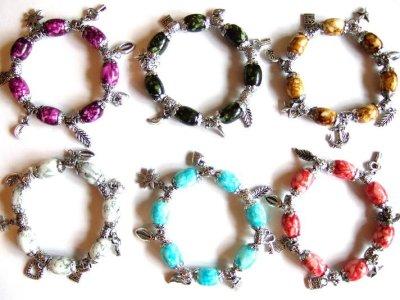 Beggars bracelet /<br> charm bracelet<br>with charms!