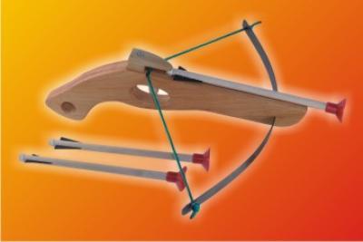 Holz - Armbrust<br>mini 32cm !!!