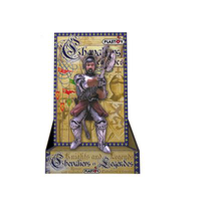 Plastoy Duke of<br> Castelfort on<br>cardboard packaging