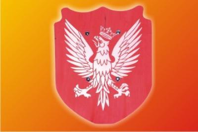 Holz - Schild<br>klein 31cm Adler !!!