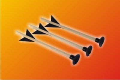 Bolt 20cm met<br> zuignap voor<br>kleine kruisboog!