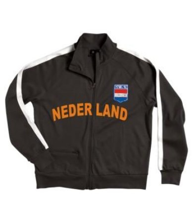 Zip Jacket Holland<br> !!! Euro 2016 !!!<br>Topp !!!