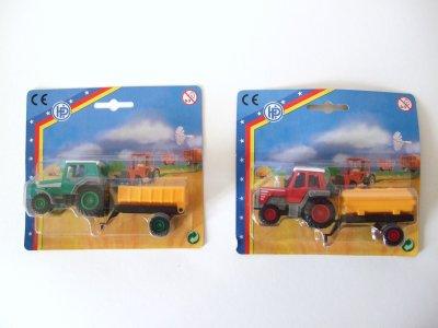 Traktor mit<br> Anhänger ca. 14cm<br>!!!
