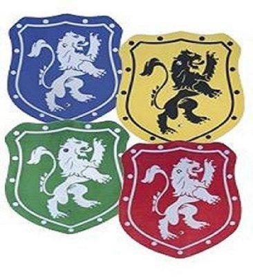 Wood - elegant<br> plate 35cm colored<br>lion!