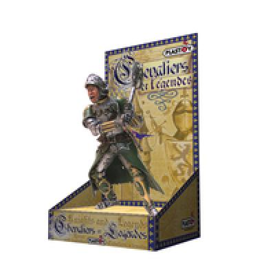 Plastoy the Green<br> Knight on<br>cardboard packaging!