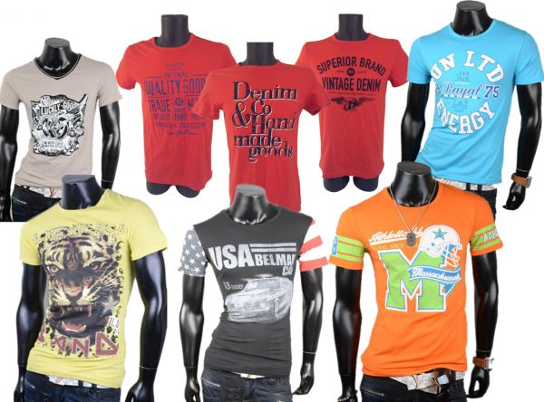 100 Men Men Short<br> Sleeve T-Shirts<br>Shirts Tops