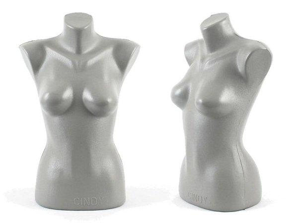 4 x torso bust<br>mannequin woman