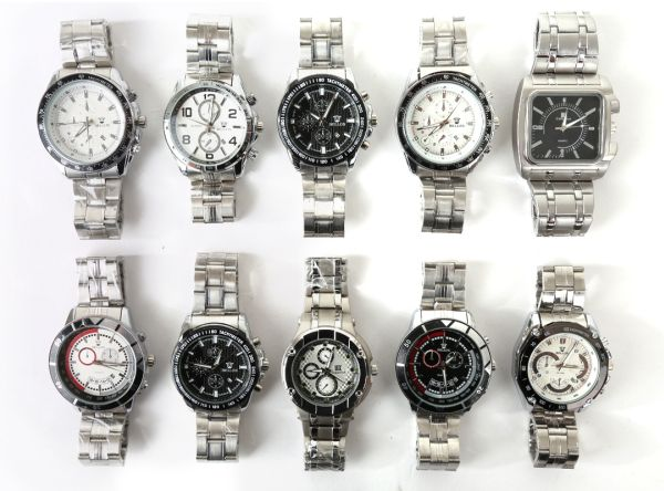 High quality noble<br> men watches with<br>wide bracelet