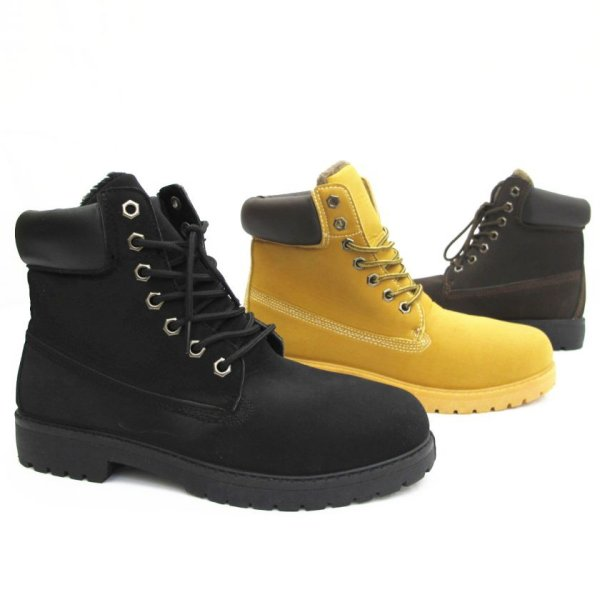 Herren Outdoor<br> Trekking Winter<br>Boots Schnür Schuhe