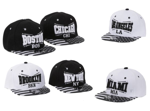 Baseball cap Cap<br> Caps USA New York<br>LA Chicago Bost
