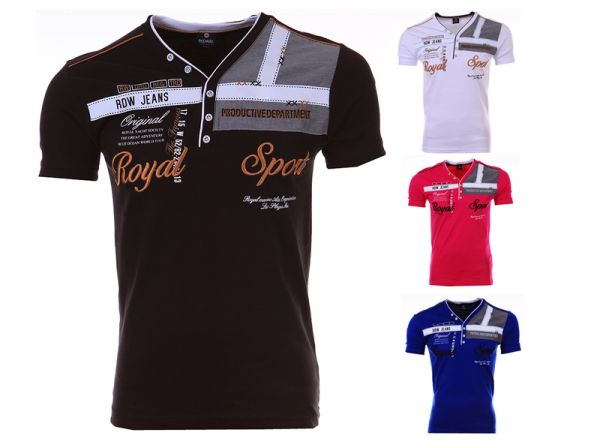 Men Royal Fit<br> Short Sleeve<br> T-Shirt Shirt ...