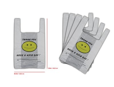 Bags plastic bags<br> bag shirt pocket<br>25x42