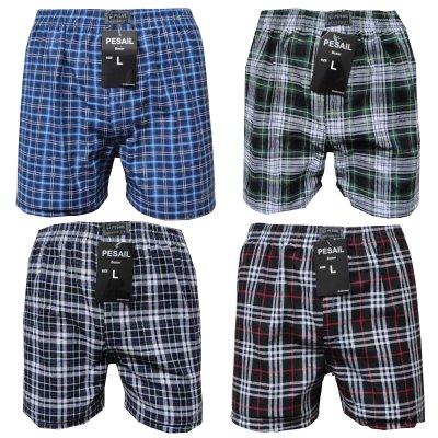Boxershorts Boxer<br> Shorts Unterhosen<br>Kariert Cotton