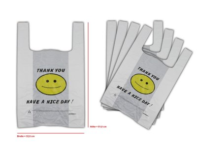 Tote Bags Plastic<br> bag shirt pocket<br>32x51