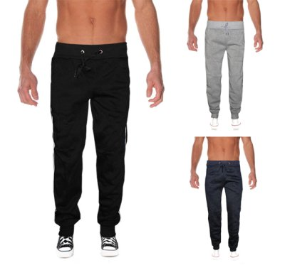 Mens sweat pants sports leisure sweatpants
