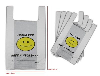 Tote Bags Plastic<br> bag shirt pocket<br>37x61