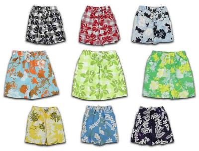 Children pants swim shorts swimsuit shorts Beach B