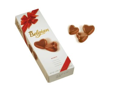 Belgian chocolates<br> Belgian pralines<br>Hearts Choco