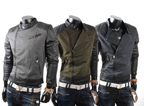 Men motorcycle<br> jacket leisure<br>jacket jacket