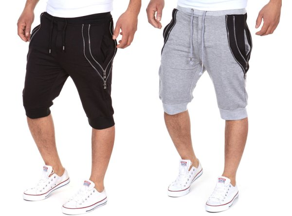 Mens Jogging 3/4<br> pants sports<br>trousers leisure Tra