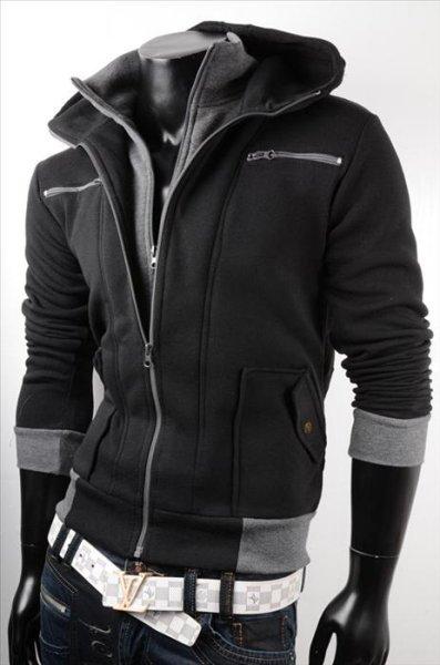 Herren Fleece<br> Jacke Jacken<br>Sweater Pullover