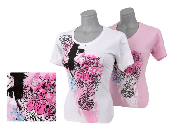 Women's Tops Shirts T-Shirt blouse rhinestones