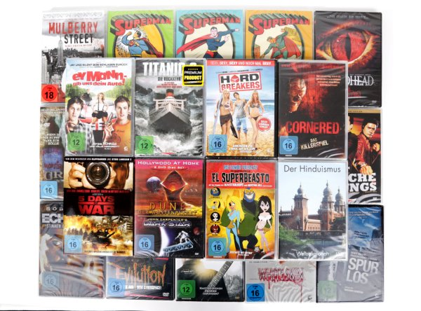 100 DVD&#39;s<br> Films Feature<br> Films Animation ...