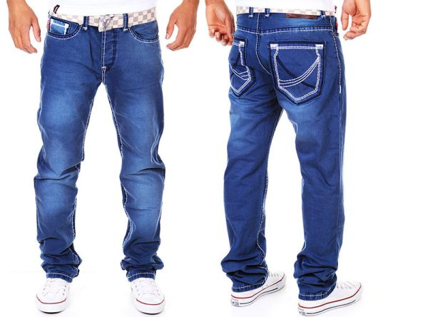 Mens jeans pants<br>jeans thick midsole