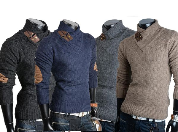 Men knit sweater<br> pullover<br>sweatshirts Shirts