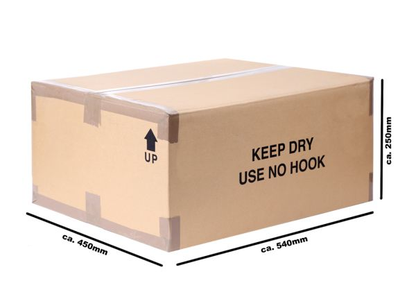 2 Wavy cardboard<br> boxes cardboard<br>packaging