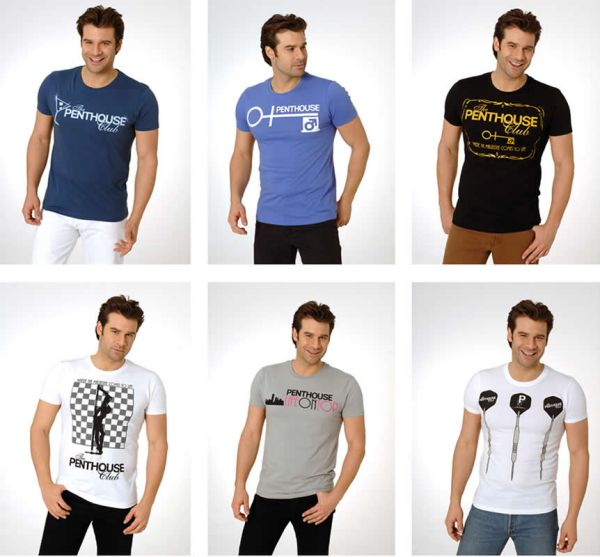 Men's Shirts T-shirts shirt tops Penthouse