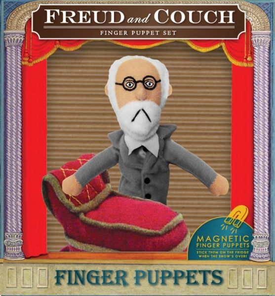 Freud &amp; Couch<br>Finger Puppet Set
