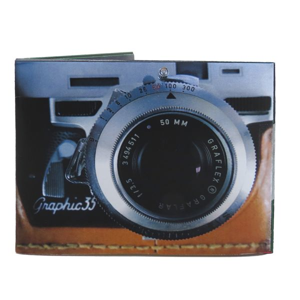 Tyvek wallets with<br>sound - camera