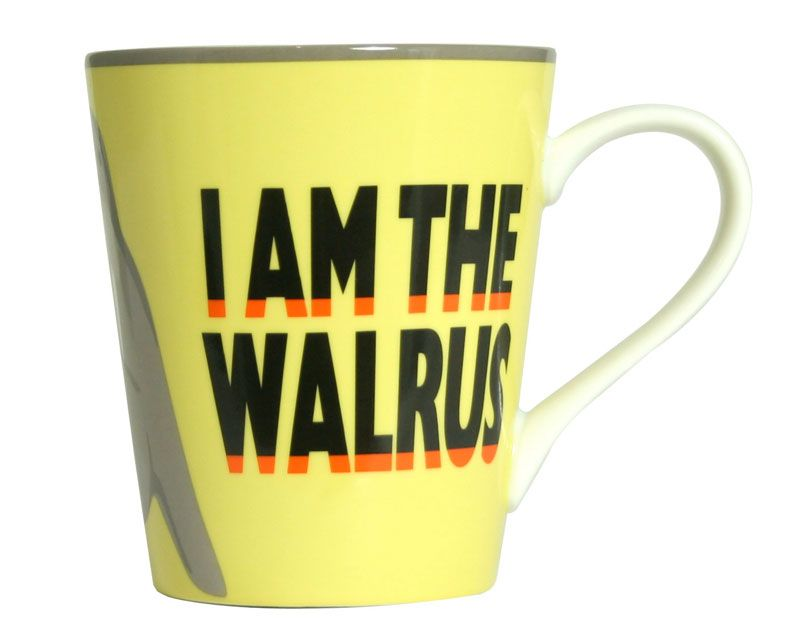 Lennon &amp;<br> McCartney mug I Am<br>the Walrus