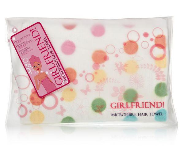 Girlfriend! Spotty<br>Hair Towel