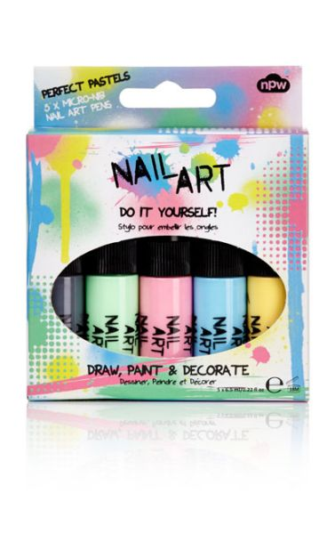 Nail Art Perfect<br>Pastel 5 pack
