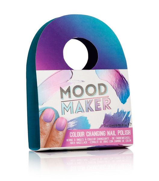 MOOD MAKER COLOUR<br> CHANGING POLISH<br>(PURPLE)